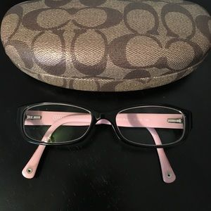 🆕❤️ Authentic Coach glasses with case