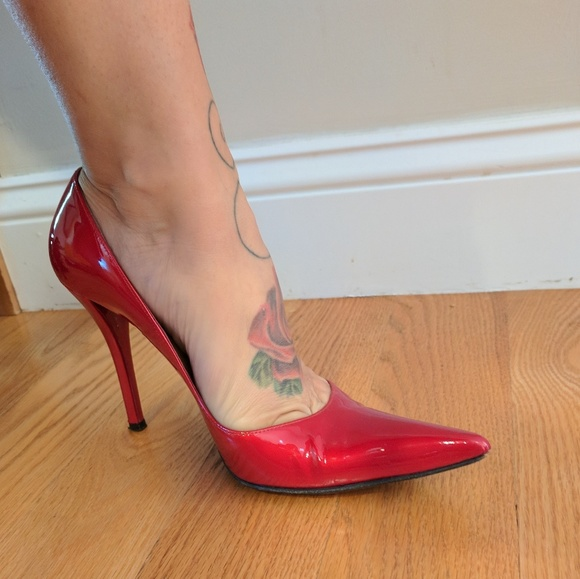 d7a3fdf26f Stuart Weitzman Shoes | Candy Apple Red Pumps | Poshmark