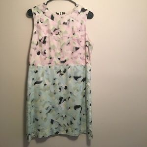 Milly patterned sleeveless dress
