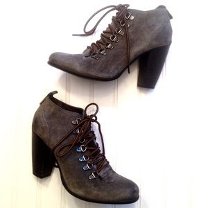Boutique 9 Demarko leather lace up ankle booties