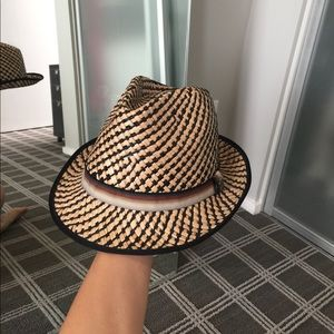 Straw/Panama hat: Christy's crown series.