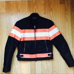 Ralph Lauren Sport Leather Moto Jacket