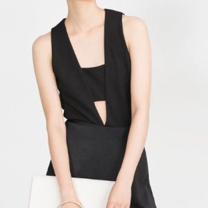 Zara Cut-Out Bodysuit