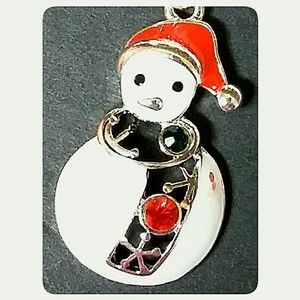 "Jewelry - Christmas Charm Bracelet Toggle Silver 7"" to 8"""
