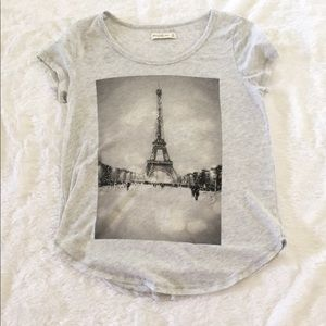 Abercrombie & Fitch Eiffel Tower Tee