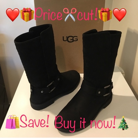 ad0d5ddb018 New Classic Ugg Shani black suede boots ❤️SALE❤️ NWT