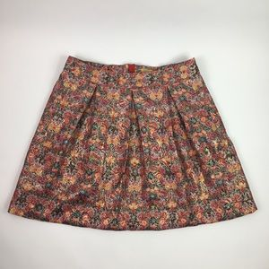 NEW Maeve Floral Gold Skirt