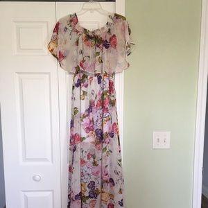 Show Me Your MuMu Best Friends Floral Maxi Dress