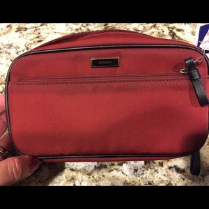 Coach mercer cosmetic travel bag organizer new