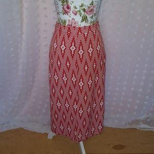 Glamorous by ASOS Aztec Midi Skirt