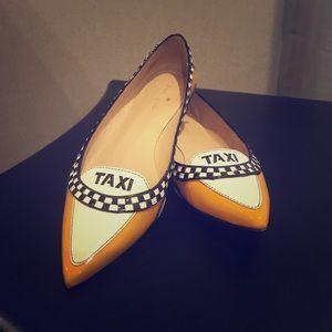 Kate Spade Taxi Flats