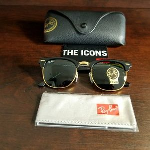 RAYBAN CLUBMASTER 100% AUTHENTIC!