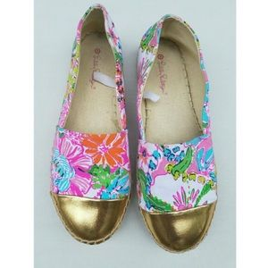 LILLY PULITZER • Target Nosey Posey Espadrilles 6