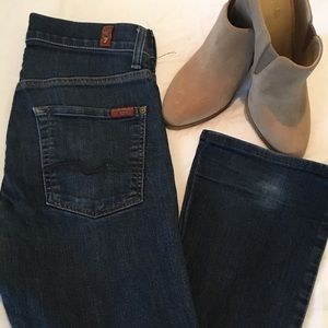 7 for All Mankind sz 28 Button Fly Boot