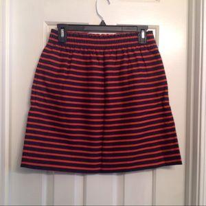 J. Crew Striped Skirt Sz 4
