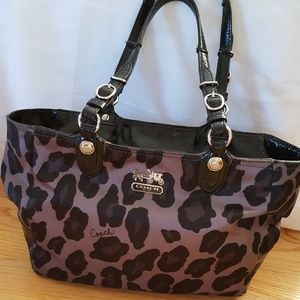 COACH ocelot Mia bag