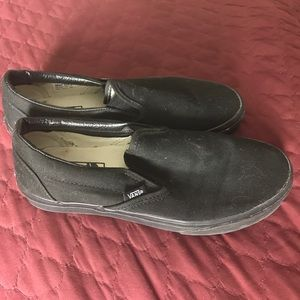 Vans shoes men's US 6 or woman 7.5 US hardly used