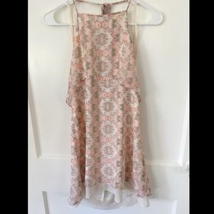 BCBGeneration pink chiffon dress