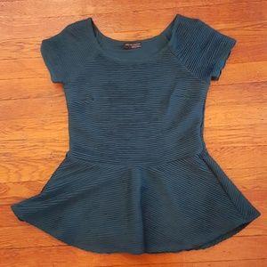 Zara peplum blouse