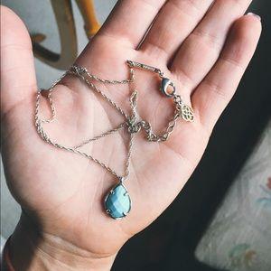 Kendra Scott Kiri turquoise pendant necklace
