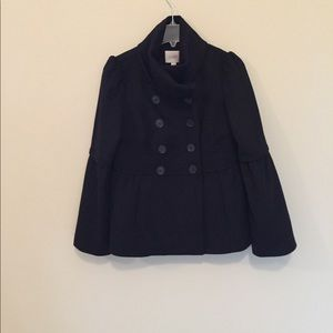 Anne Taylor Loft Black NWT WINTER WOOL COAT