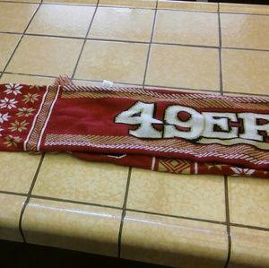 San Francisco 49ers scarf