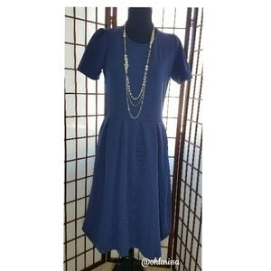 LuLaRoe Amelia Dress - Blue