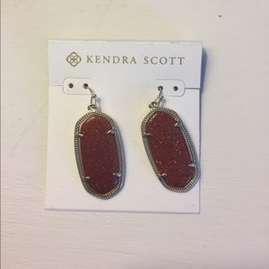 Kendra Scott Elle Earrings in Goldstone