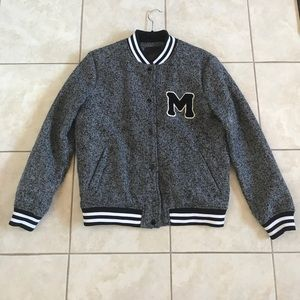 New Look Varsity Jacket Size 8 US