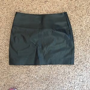 Leather skirt from Express