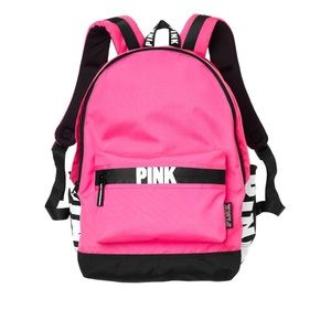 ee14679d17 PINK Victoria s Secret Bags - Victoria Secret PINK Campus Backpack PINK ON  FLEEK