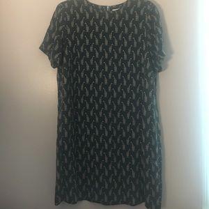 Grey Giraffe dress