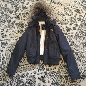 Hollister All Weather Bomber Jacket - s