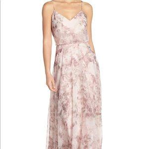 Jenny Yoo Inesse Lavendar Gown - Size 8