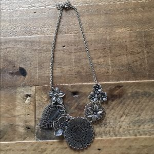 Antiqued Statement Necklace