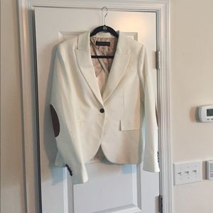 Cream Zara blazer