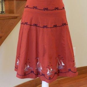 Seaside skirt by Elevenses