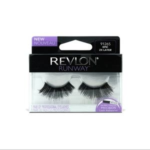 Revlon's dramatic two layer false lashes!