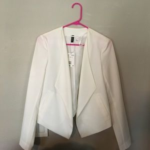 White h&m jacket
