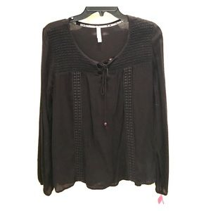 Black blouse NWT