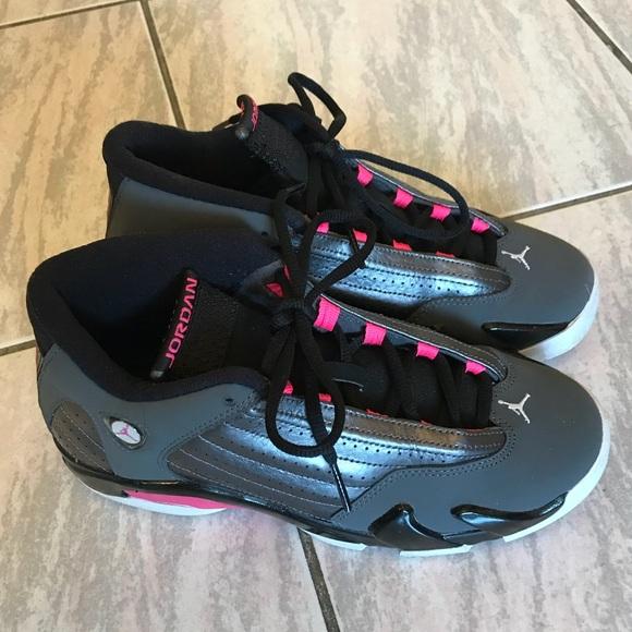 472e34ec8098aa Air Jordan Shoes - Black and Pink Jordans