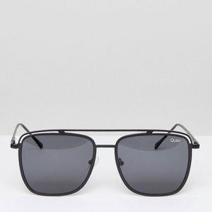 "Quay Australia Mr. Black Sunglasses ""NWT"""