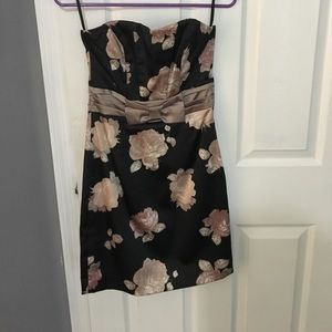 H&M strapless dress