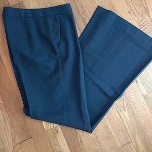Theory, dark grey, red pinstripe, slacks