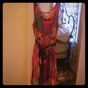 Fall Foliage Dress from Anthropologie
