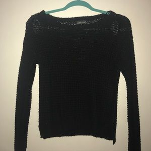 Black cozy sweater
