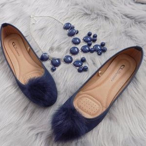 Chinese Laundry Pompom  Flats