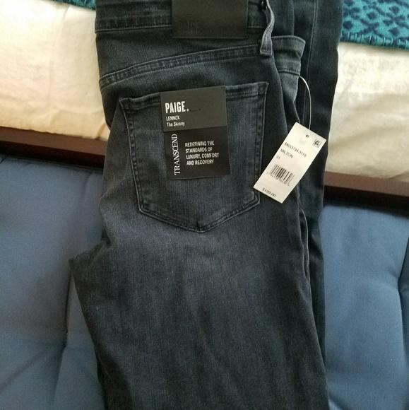 4ca7dae1 PAIGE Jeans | Nwt Mens Lennox Skinny Jean | Poshmark