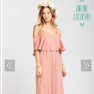 Show Me Your MuMu Caitlin Maxi Dress Rustic Mauve
