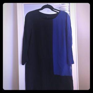 J. Crew Color Block Shift Dress